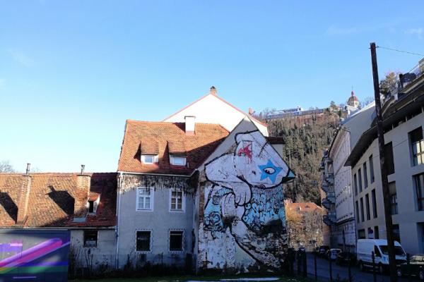street art Lendplatz