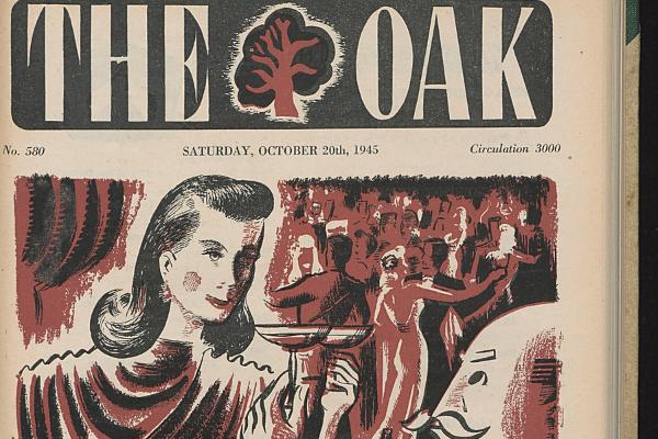"Zeitschrift ""The oak"""